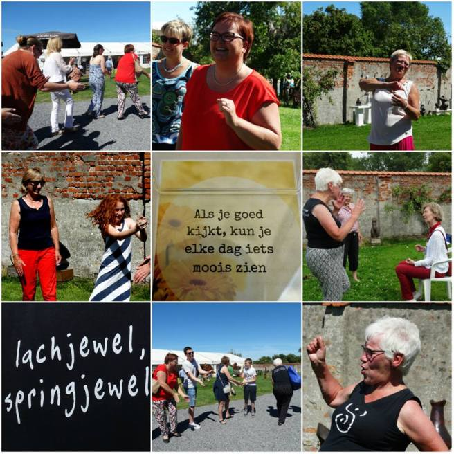 collage lachyoga Lissewege