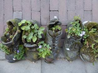 schoenen vol geurende kruiden