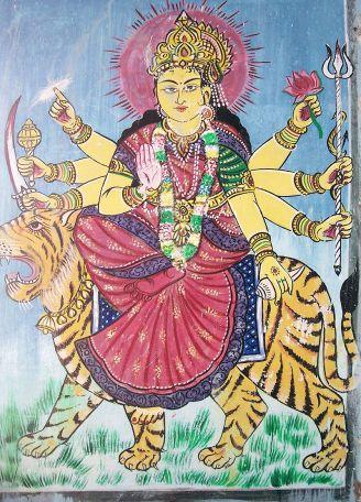 800px-Godess_Durga_painting